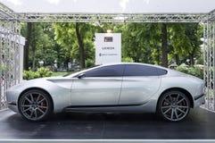 Parco Valentino - Salone & Gran Premio - Open Air Car Show in Turin Royalty Free Stock Photo