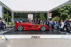 Parco Valentino - Salone & Gran Premio - Open Air Car Show in Turin Royalty Free Stock Images