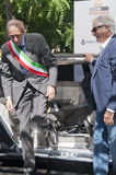 Parco Valentino - Salone & Gran Premio - Open Air Car Show in Turin Stock Images