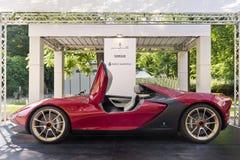 Parco Valentino - Salone & Gran Premio - Open Air Car Show in Turin Stock Photo