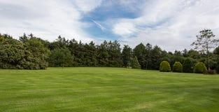 Parco verde in città Fotografie Stock Libere da Diritti