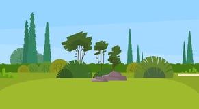 Parco verde Forest Outdoor Nature Landscape Immagini Stock Libere da Diritti
