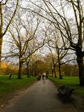 Parco verde, Londra, Regno Unito fotografia stock libera da diritti