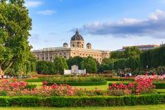 Parco a Vienna Fotografie Stock
