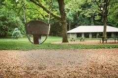 Parco vuoto Fotografia Stock Libera da Diritti