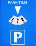 Parcomètre Photographie stock