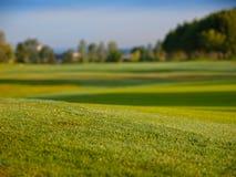 Parcours ouvert de golf Images libres de droits