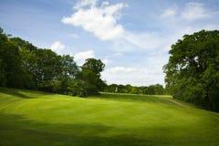 Parcours ouvert de golf Photo libre de droits