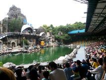 Parcs d'attractions à Bangkok, Thaïlande image stock