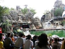 Parcs d'attractions à Bangkok, Thaïlande image libre de droits