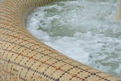 Parcs de ville de Bakou, fontaines photos stock