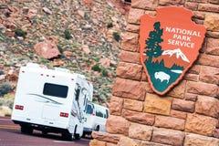 Parcs nationaux américains photographie stock libre de droits