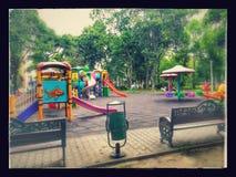Parcul Tineretului在布加勒斯特 库存图片