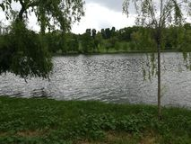 Parcul Tineretului在布加勒斯特 库存照片