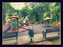 Parcul Tineretului in Bukarest Stockbild