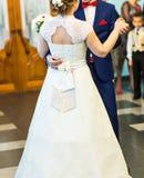 pardans som att gifta sig bara royaltyfri foto