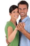 pardans tillsammans royaltyfria bilder