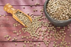 Pardina de lentille - culinaris de lentille Photo libre de droits