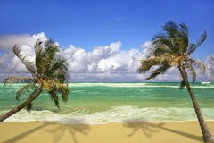 pardise de Kauai d'île d'Hawaï Image libre de droits