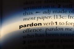 pardon stock image