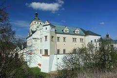 Pardubice chateau Stock Photos