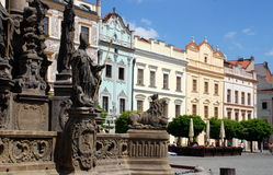 Pardubice, Czech Rep: Market Square Royalty Free Stock Photo