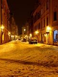 Pardubice - das alte Teil der Stadt Lizenzfreies Stockbild