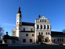 Pardubice - renacimiento del castillo francés Fotos de archivo libres de regalías