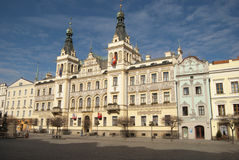 Pardubice town hall Royalty Free Stock Image
