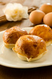 Pardulas. Typical dessert of Sardegna made with ricotta cheese royalty free stock photography