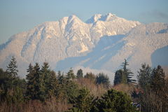 Pardwy góra Blisko Vancouver, Kanada Zdjęcia Stock