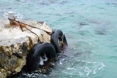 Pare-chocs de bateau photo libre de droits