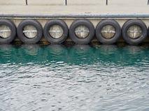 Pare-chocs de pilier de pneu de voiture Image libre de droits