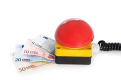 Pare a crise da finança Imagem de Stock Royalty Free