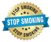 Pare de fumar ilustração royalty free