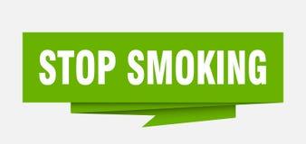 Pare de fumar ilustração stock