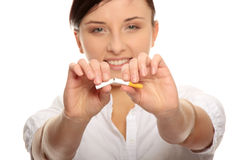 Pare de fumar Imagens de Stock