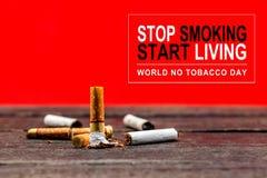 Pare de fumar fotos de stock