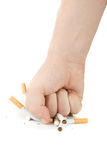 Pare de fumar! Imagem de Stock Royalty Free