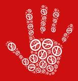 Pare de fumar o conceito Foto de Stock