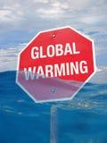 Pare el calentamiento del planeta fotografía de archivo libre de regalías