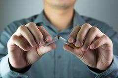 Pare el fumar Imagen de archivo libre de regalías