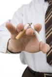 Pare el fumar foto de archivo libre de regalías