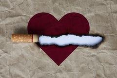 Pare el fumar de concepto Imagen de archivo libre de regalías