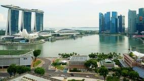 Pare el movimiento de Marina Bay Sands Hotel metrajes