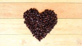 Pare el movimiento del grano de café metrajes