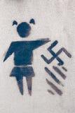 Pare el nazismo Fotografía de archivo