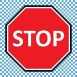Pare el vector de la muestra stock de ilustración