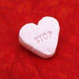 Pare en nombre de amor Imágenes de archivo libres de regalías