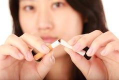 Pare fumar Imagens de Stock